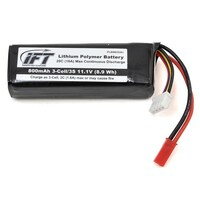 800MAH 3-CELL/3S 11.1V 20C LIPO BATTERY, JST CONNECTOR: EVOLVE 300 CX