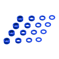 JConcepts - metric washer set (.5, 1,2 and 3mm thickness) 16pc.
