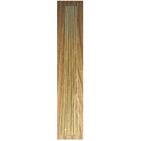 K&S 155F SQUARE BRASS (36IN LENGTHS) 1/4IN (1 PIECE PER BAG X 6 BAGS)