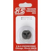K&S 416 1-72 THREADING DIE (1 PIECE)
