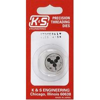 K&S 417 2-56 THREADING DIE (1PIECE)