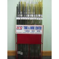 K&S 4800 TUBE & WIRE CENTER WITH DISPLAY RACK (2 CARTONS)