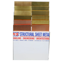 K&S 6400 SHEET METAL ASSORTMENT WITH DISPLAY RACK