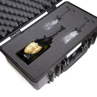 Waterproof protective hard case 20.28L