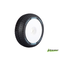 B-Turbo 1/8 Buggy Tyre White