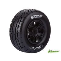 SC-Rocket On Road Tyre Soft Black Rim