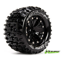 MT-Pioneer Tyre On Black Rim 0 Offset