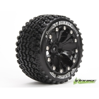 ST-Hummer Tyre On Black Rim 1/2 Offset