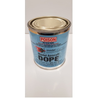 (DG) AIRCRAFT DOPE 500 MIL CAN. (12)