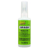 ZAP PT-01 2 OZ. GREEN ZAP-A-GAP CA+ 1 BOTTLE (BOX QTY 6)