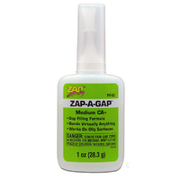 ZAP PT-02 1 OZ. GREEN ZAP-A-GAP CA+ 1 BOTTLE (BOX QTY 12)