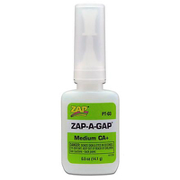 ZAP PT-03 1/2 OZ. GREEN ZAP-A-GAP CA+ 1 BOTTLE (BOX QTY 12)