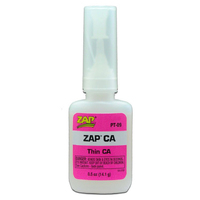 ZAP PT-09 1/2 OZ. PINK ZAP CA 1 X BOTTLE (12 PER BOX)