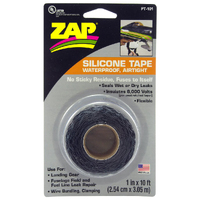ZAP PT-101 1 IN. X 10 FT ROLL ZAP SILICONE TAPE  (BLACK)