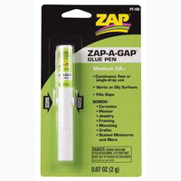 ZAP PT-103 .07 OZ. GREEN ZAP-A-GAP PEN (CARDED)