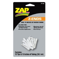 ZAP PT-18 Z-ENDS (10 EXTENDED TIPS/15 INCHES OF MICRO TUBING)