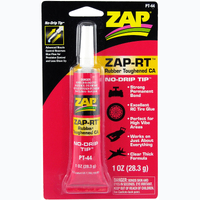 ZAP PT-44 1 OZ. RUBBER TOUGHENED CYANOACRYLATE