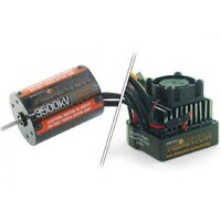 RADIENT REAKTOR BRUSHLESS CONVERSION SET: 3500kv MOTOR & 30A WATERPROOF ESC