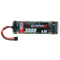 RADIENT SUPERPAX NIMH BATTERY SC 8.4V 7-CELL 3000MAH 6-1 STICK PACK: DEANS