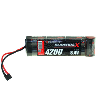 RADIENT SUPERPAX NIMH BATTERY SC 8.4V 7-CELL 4200MAH 6-1 STICK PACK: DEANS