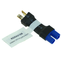 RADIENT ADAPTOR MALE HCT (DEANS) PLUG TO EC3 FEMALE