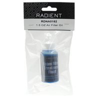 RADIENT AIR FILTER OIL 1.5OZ