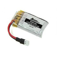 ARES AZSQ1905 300MAH 1-CELL/1S 3.7V 22C LIPO BATTERY: SPIDEX 3D