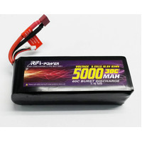 RFI LIPO 30C 18.5V 5 CELL 3300ma W/DEANS CONNECTOR
