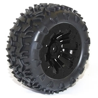 Wheel & tyre pair MT Black (FTX-6310)
