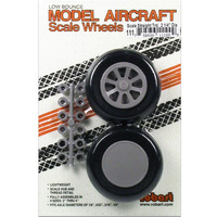 Robart 111 Scale Wheels 2.25 S Tread