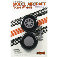 ROBART SCALE WHEELS: 3.00 INCH