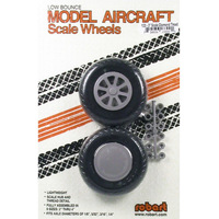 ROBART SCALE WHEELS: 3.00 INCH X-TREAD