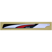 Carbon Main Blades 3D 600mm 46/50 size