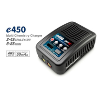 E450 Charger  50W - 4A -AC Multi Chemistry Balance Charger