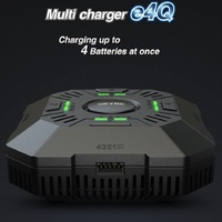 e4Q DC quattro charger (2-4s Lipo) Requires External power supply or 12v source