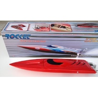 Rocket Electric Boat Red hull w/2958