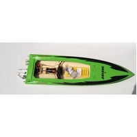 Ariane Electric Boat w/3674 motor Green