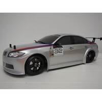 E4D MF 1/10 Drift Car Silver RTR 320
