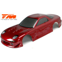 Body - 1/10 Touring / Drift - 190mm - Painted - no holes - RX7 Dark Red