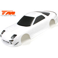 Body - 1/10 Touring / Drift - 190mm - Painted - no holes - RX7 White