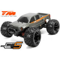 E5 1/10th B/Less Monster Truck Silver