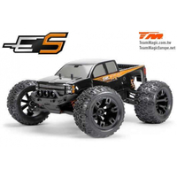 1/10th E5 BRUSHED monster truck black