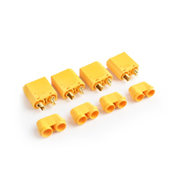XT-90 Plug Male(Male bullet with female housing)4pcs/bag