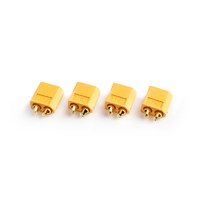 XT-60 Plug Male(Male bullet with female housing)4pcs/bag