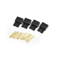 Traxxas Compatible Plug Male  4pcs/bag