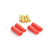 3.5mm gold connector w/housing 2pcs/bag