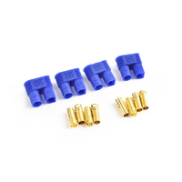 EC3 Plug Female(Female bullet with male housing) 4pcs/bag