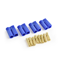 EC5 Plug Male(Male bullet with female housing) 4pcs/bag
