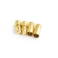 5.0mm gold plated connector(F&M)  2pairs/bag