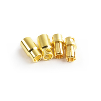 8.0mm gold plated connector(F&M)  2pairs/bag